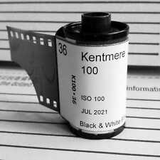 35mm- Kentmere 100 black&white film 36exp (*10 rolls) In-house loaded