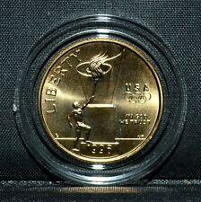 1996-W $5 GOLD USA OLYMPIC CAULDRON ✪ BU UNC ✪ COMMEMORATIVE COIN L@@K ◢TRUSTED◣