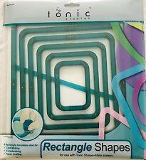 Tonic Studios Shape-Mate System - 6 Rectangle Shapes - 752A - NEW