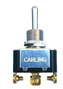Carling Technologies (ON)-OFF-(ON) 3 Prong