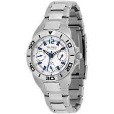 TIME FORCE TF-3088B02M RELOJ CADETE MULTIFUNCION  ACERO 50M