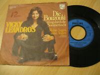 "7"" Single Vicky Leandros Die Bouzouki klanf durch die Sommernacht Vinyl 6000 101"