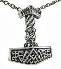 Endless Celtic Knot Thor's Hammer Strength Pendant Necklace Norse Mythology J297