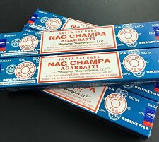 Nag Champa Incense Sticks  1 x Box of 12 (15 Grams sticks)
