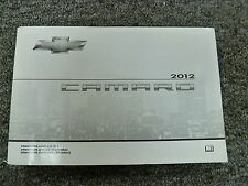 2012 Chevrolet Chevy Camaro Coupe Owner Operator Manual 1LS 2LS 1LT 2LT 1SS ZL1