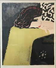 JEAN PAUL CASSIGNEUL, The Glance lithograph, Unframed