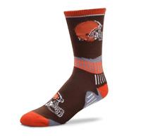 For Bare Feet Cleveland Browns Sport Big Crew Socks