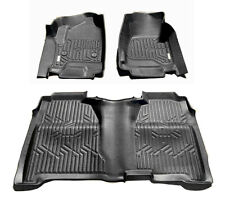 2014-18 Silverado Sierra Crew Cab 3D Floor Mat All Weather Protection TPE Liner