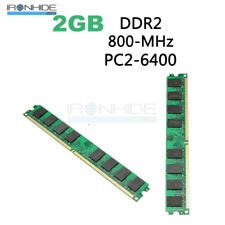 2GB DDR2 800MHZ PC2-6400 240PIN 1.8V Memory RAM For AMD CPU Motherboard Desktop