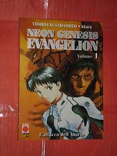 NEON GENESIS EVANGELION COLLECTION NEW- N°1-YOSHIYUKI SADAMOTO-MANGA PANINI NUOV