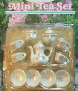 Porcelain Mini 13 Piece Tea Set
