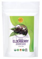 YAKEE Certified Organic Elderberry Juice Powder 3,5 Ounce USDA Certified No GMOs