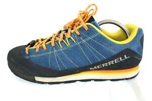 Merrell Catalyst Suede Sneakers - Men's US Size 10 J000099 Blue