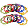 32T-38T104BCD MTB Mountain Bike Chainring Round Oval Narrow Wide Chain Ring
