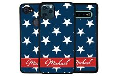USA America Stars Stripes Personalized Phone Case for Apple Samsung LG Google
