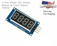 4 Bits Digital Tube LED Display Module with Clock Display TM1637 for Arduino DIY