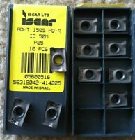 ISCAR ADKT 1505 PD-R IC 50M P25 Carbide Inserts Lathe Mill Tool Holders 10 Pcs