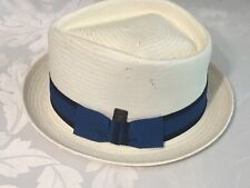 Dasmarca Pork Pie / Mod Style Summer Hat Size Large  - SunHat Hats