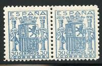 SPAIN SC# 617 ED# 801 MINT NEVER HINGED PAIR AS SHOWN AHE