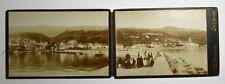 Cabinet Photo Set of 2 photo CRIKVENICA  Croatia, G.B.BRONZINI, VERY RARE (2843)