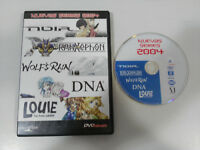 NUEVAS SERIES MANGA 2004 DVD SELECTA VISION NOIR WOLF´S RAIN DNA2 LOUIE