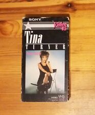 Tina Turner Private Dancer Rare Sony Video 45 on VHS 1984