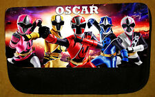 Boys/Girls Personalised Power Rangers Pencil Case -Include Name - Fab For School