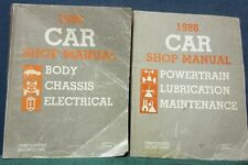 i 1986 Tempo/Topaz, Escort/Lynx Body, Chassis, Elect.,Powertrain, Lube, Maint.