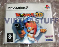 Worms 3D, promo, Not For Resale, Playstation 2, PS2, EURO, Team17, brand new !!!
