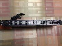 applied research and technology ( ART ) 343 dual channel 15 band equalizer