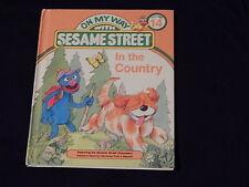 """Sesame Street - Vtg. Books) Lot of 3) """"Big Bird Can Share"""" + (JIM HENSON) '80s)"""