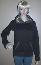 Ezra Fitch 1892 Brown Women Sweater Hood Size M