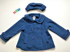 Toddler Kids Baby Girls Coat 18M NWOT Good Lad Blue Fleece Coat