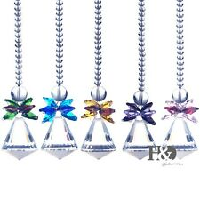 Set 5 Window Hanging Suncatcher Crystal Prism Pendulum Feng Shui Drops Pendants