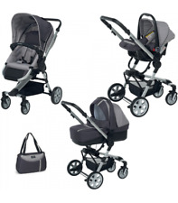 Foppapedretti Up3 Passeggino Combinato - Sport Grey