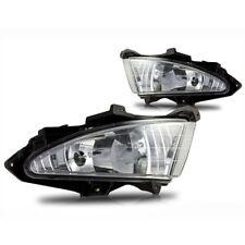 For 2007-2010 Hyundai Elantra Clear Lens Chrome Housing Fog Lights Lamps