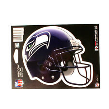 "SEATTLE SEAHAWKS HELMET WINDOW DECAL 5.25"" X 6.25"" NFL STICKER CAR TRUCK DIE-CUT"