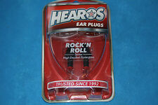 Hearos Rock-N-Roll Series Ear Plugs with Case, NRR27, MPN 309