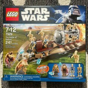 *NEW* Lego Star Wars Battle of Naboo 7929