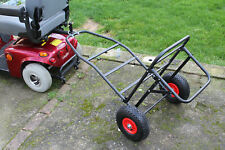 Mobility Scooter Carp Lake Fishing Tackle Gear Towing Transport Trolley Solution