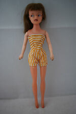 PEPPER Tammy clone teenage fashion doll brunette hair Hong Kong 60's