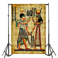 6x9ft Photography Backgrounds Egyptian Mural Picture Photo Backdrops Stage Props