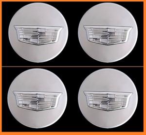 4pcs. Center Caps Cadillac 9597375 23156594 ATS CTS CT6 XT5 SRX XTS Wheel Set