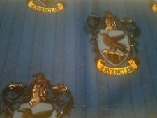 HARRY POTTER House of Ravenclaw Blue Fabric Scrap Quilt Sew Craft