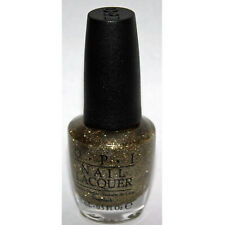 OPI Nail Polish Lacquer 0.5 - All Sparkly and Gold
