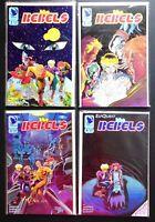 Lot of 4 Elfquest Rebels Comic Books 1-4 Warp Graphics 1 2 3 4