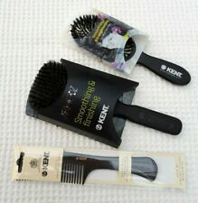 KENT ladies' hairbrushes and rake comb