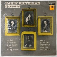 EARLY VICTORIAN POETRY: E.B. Browning, Clare SEALED Argo Spoken Word UK LP '68
