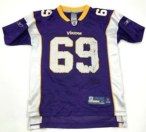 VINTAGE Reebok Jared Allen Minnesota Vikings Football Jersey Youth Medium 10 -12