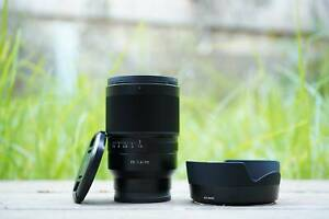 Sony Zeiss 35mm f1.4 FE ZA Second hand excellent condition lens only